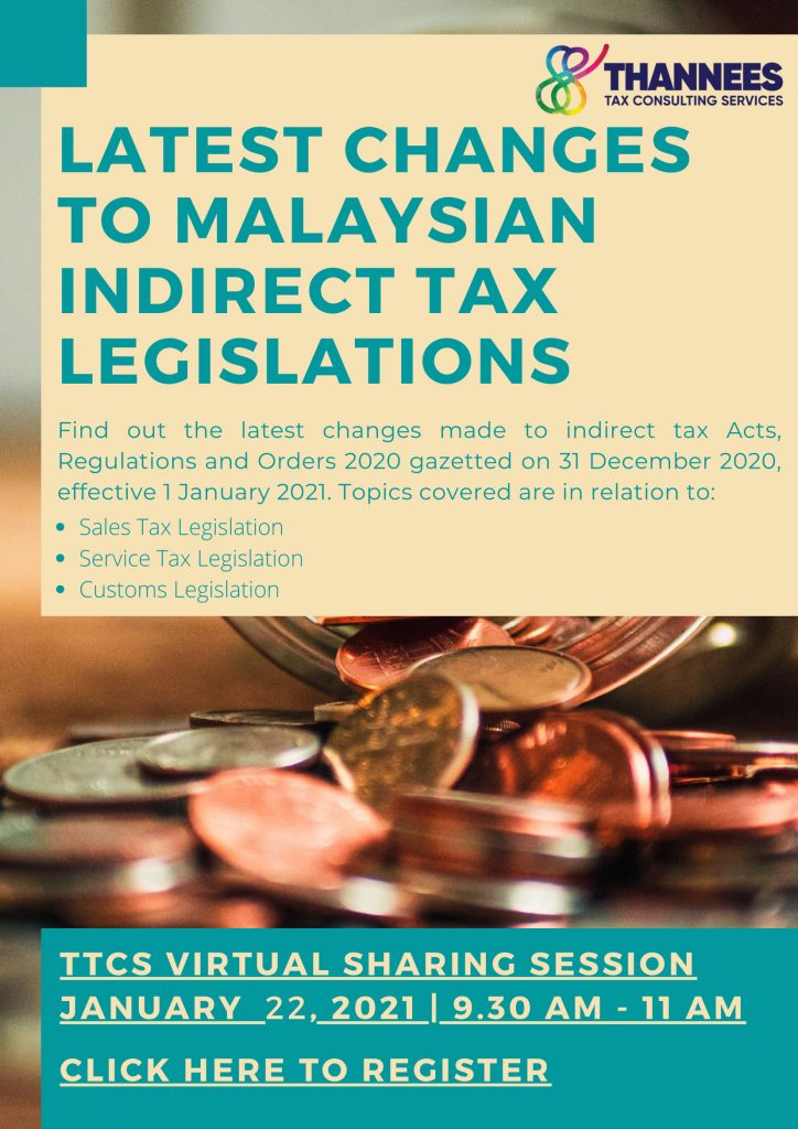 Latest Changes to Malaysian Customs Related Legislation - TTCS Virtual Session-1